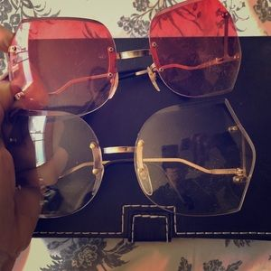 Vintage 60s 70s 80s Sunglasses 2 Pair